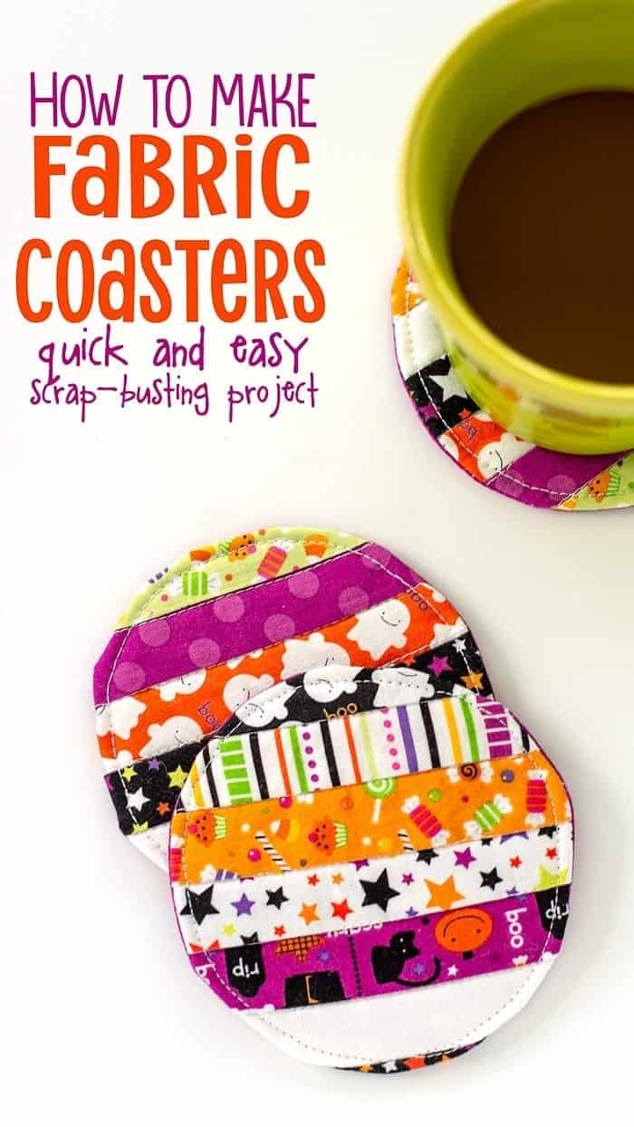 Easy Fabric Coaster Tutorial