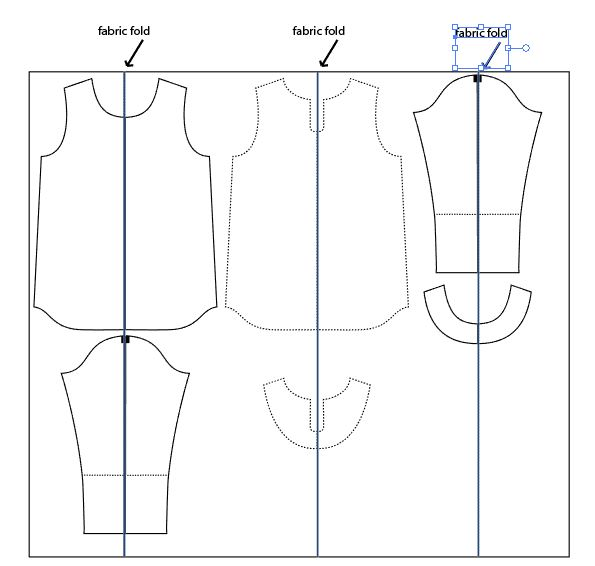 bow back top pattern