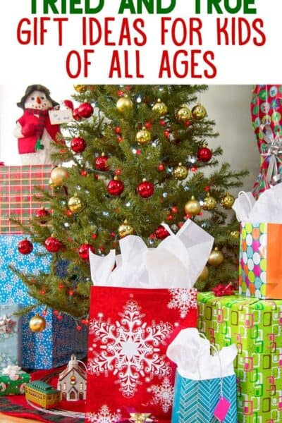 Tried and True Gift Ideas for Kids ages 2 to 13+