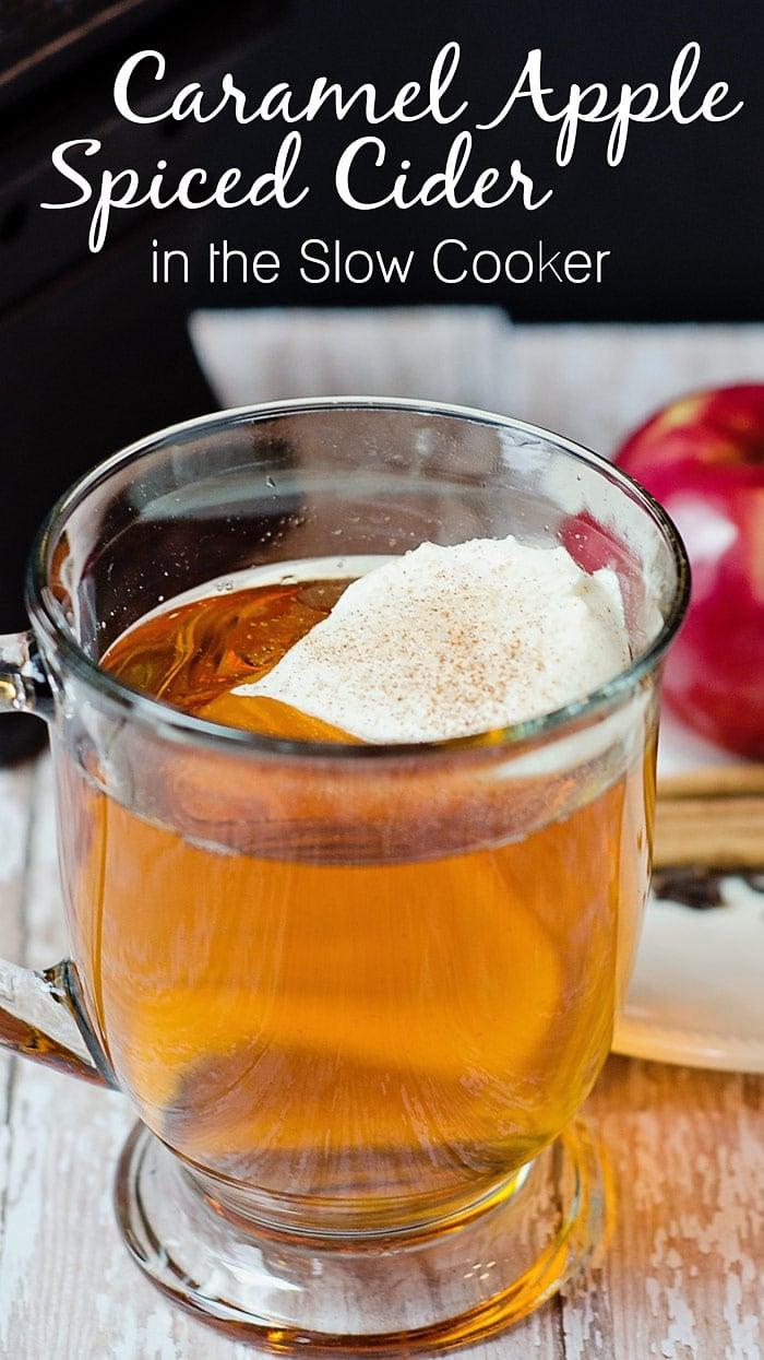 Knock-off Starbuck's Caramel Apple Spiced Cider