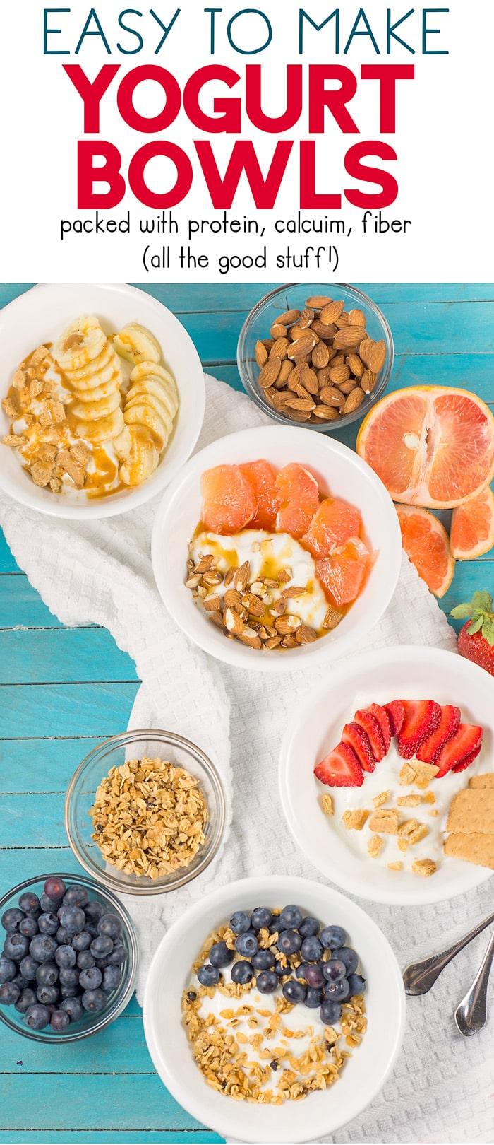 Yogurt bowl ideas