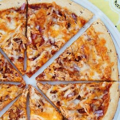 Easy Barbecue Chicken Pizza Recipe