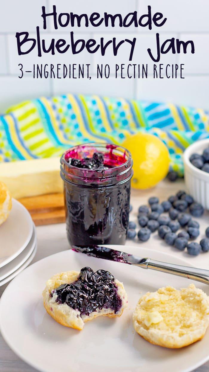 Homemade Blueberry Jam recipe