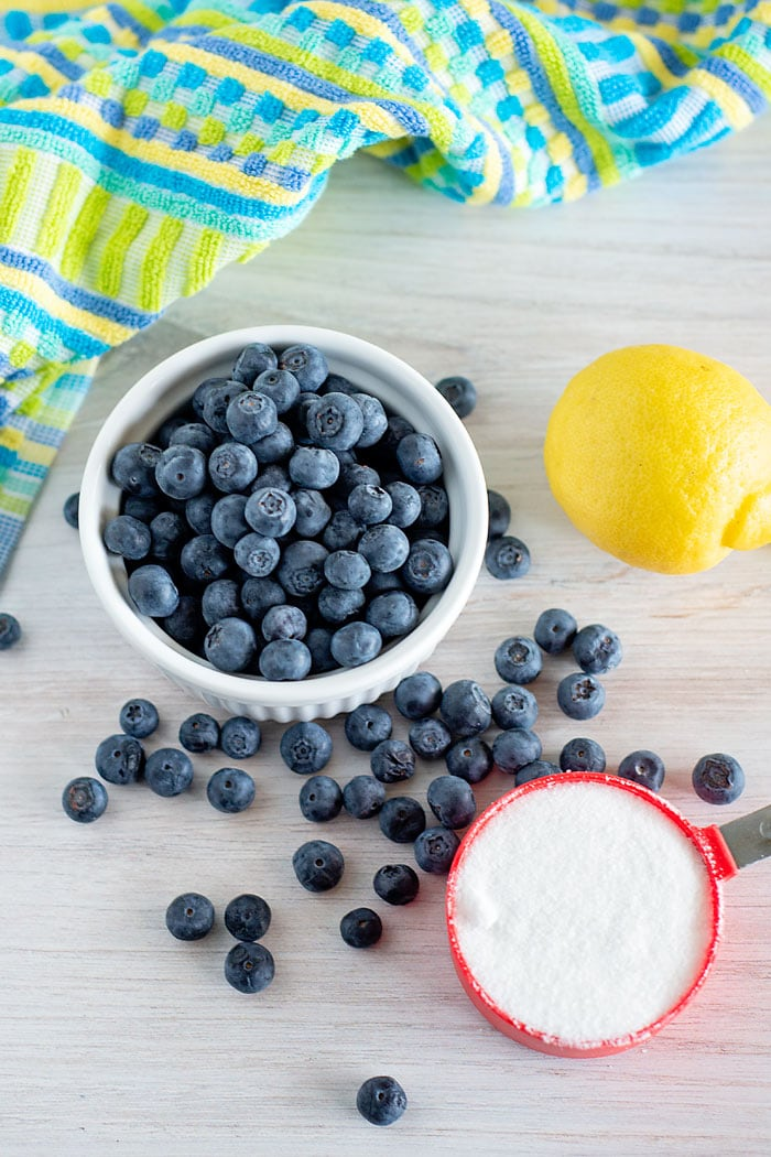 no pectin blueberry jam recipe