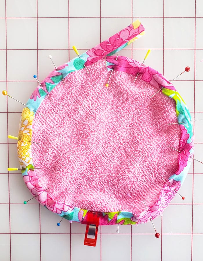 diy microfiber makeup remover cloth