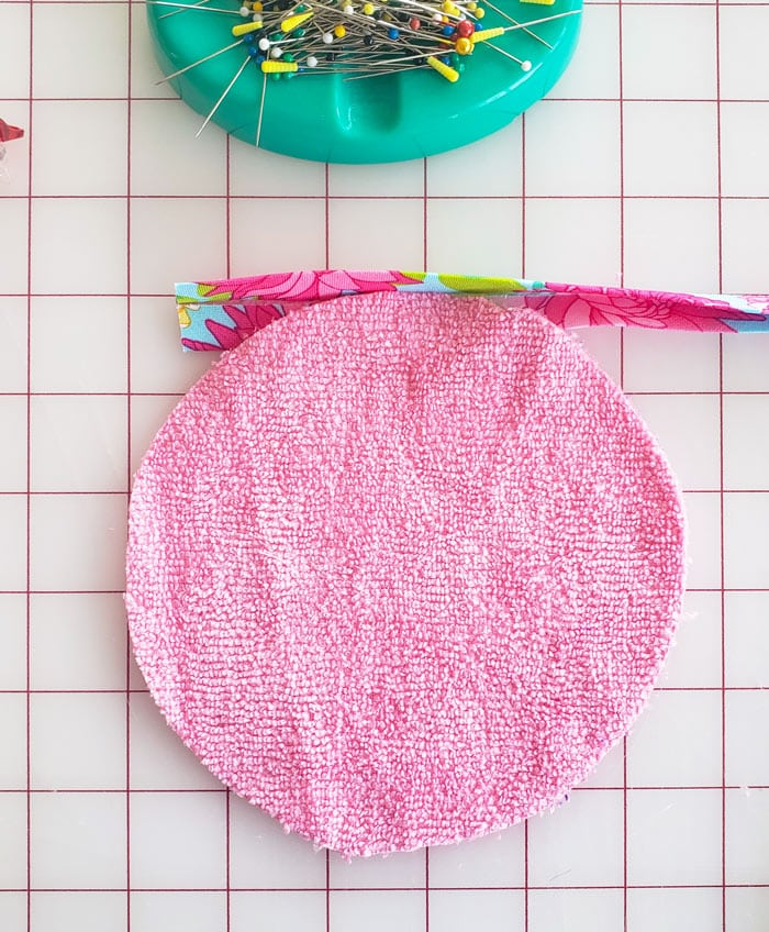 how to make a microfiber makeup remover cloth