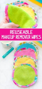 reusable makeup remover wipes