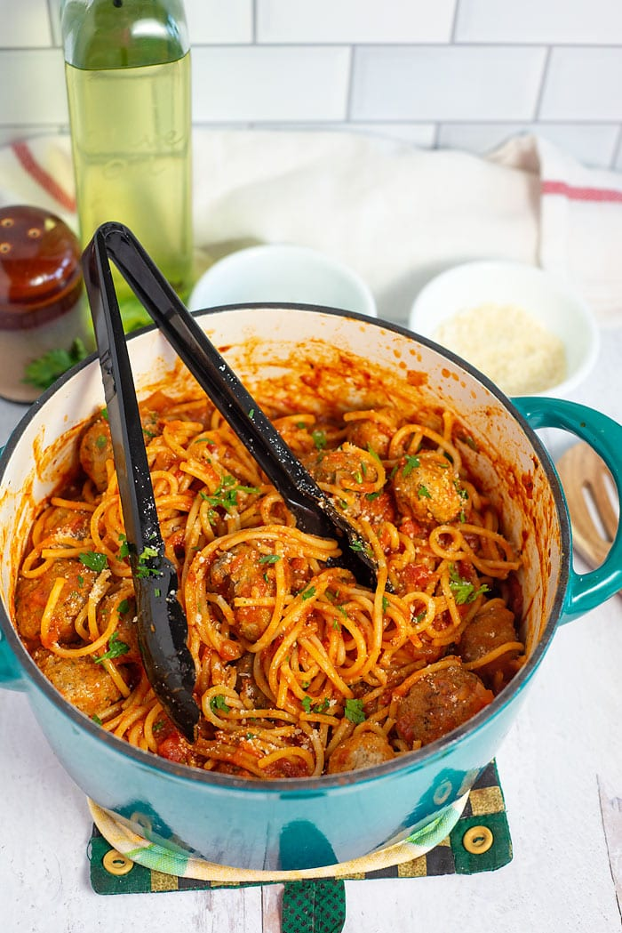 one pot spaghetti and meatball recipe