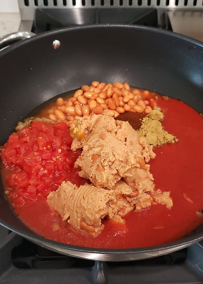 how to make bean chili