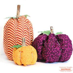 How to Make Fabric Pumpkins