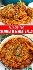 one pot spaghetti and meatballs recipe
