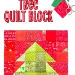 Christmas Tree Quilt Block