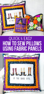 what to make with fabric panels