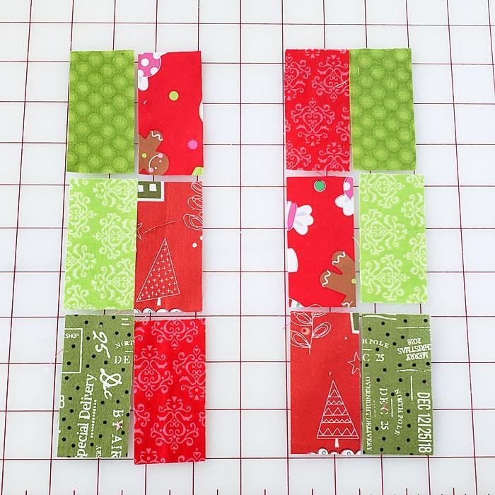 gift box quilt block
