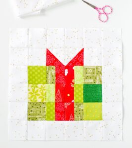Christmas Present Quilt Block Pattern