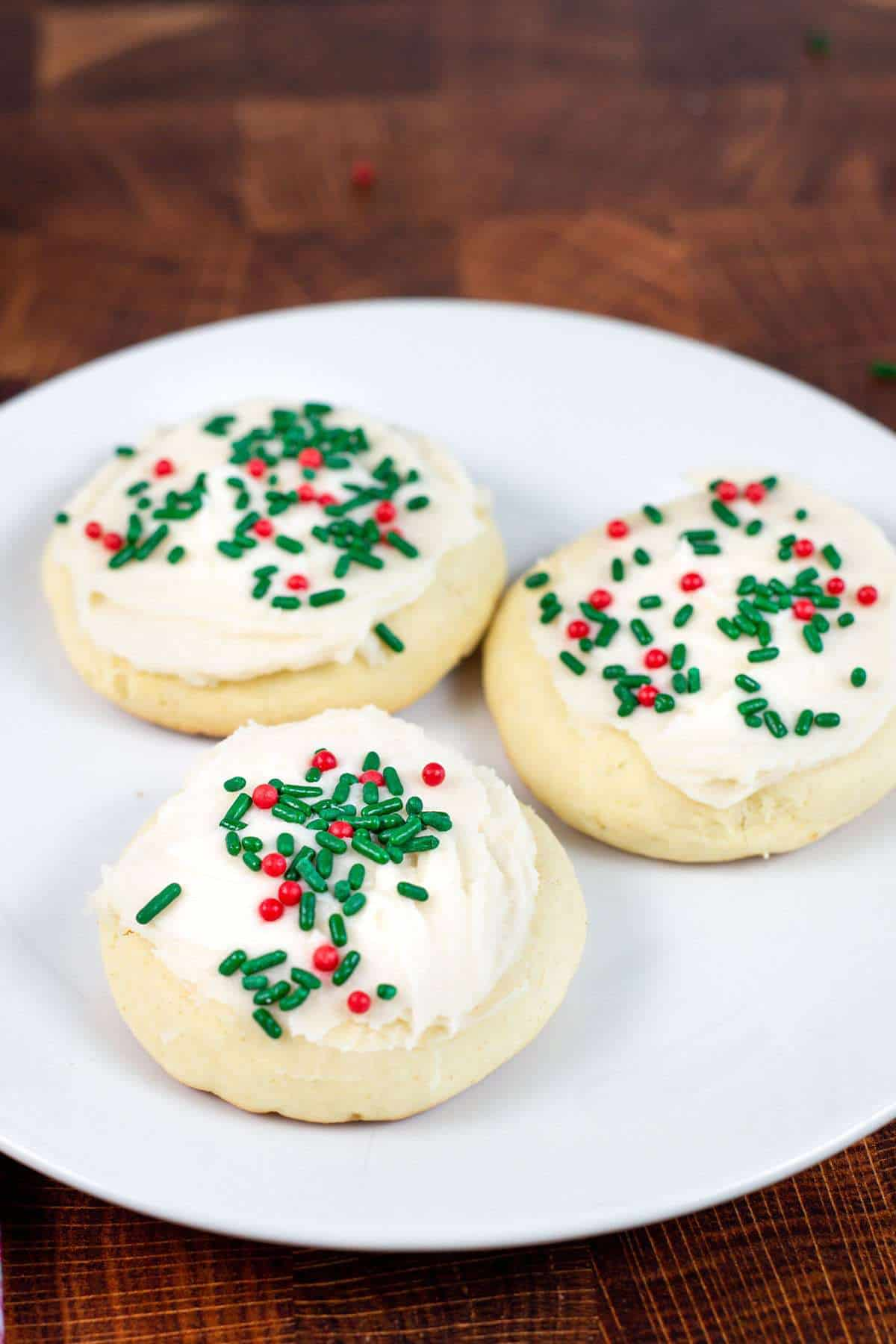 Soft Lofthouse Style Christmas Cookies