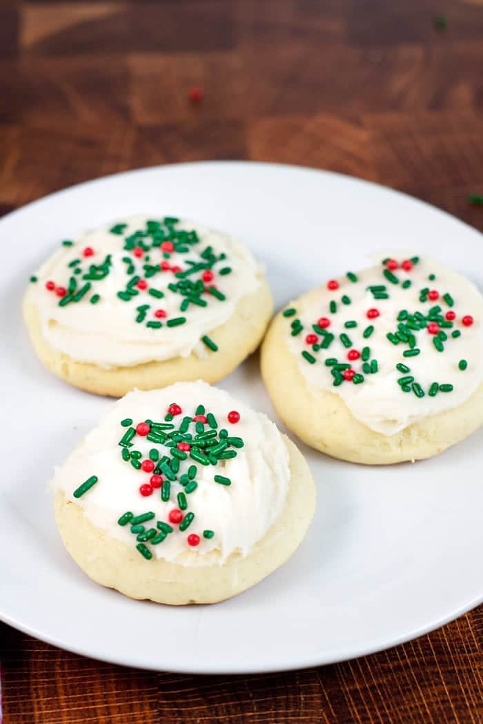 Frosted Christmas Cookie recipe