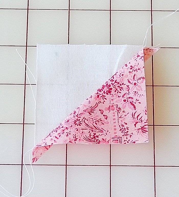 heart shaped quilt block tutorial