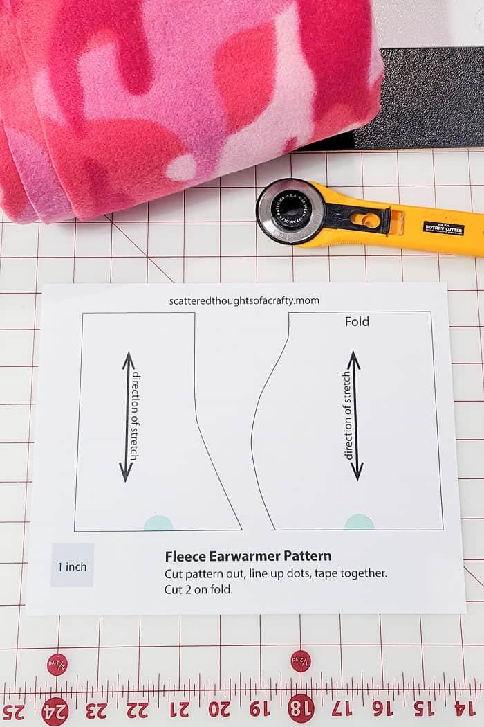 free ear warmer pattern