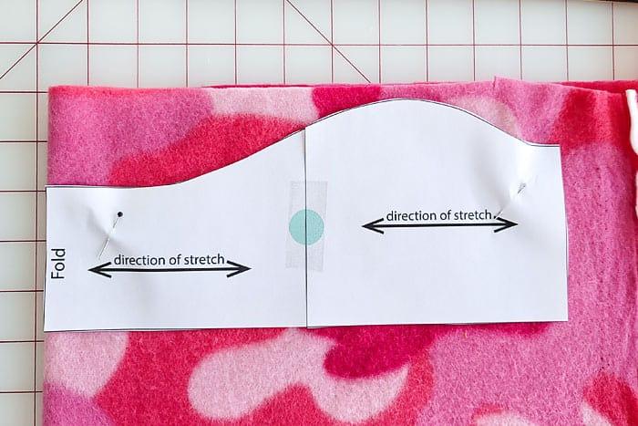 how to sew an ear warmer