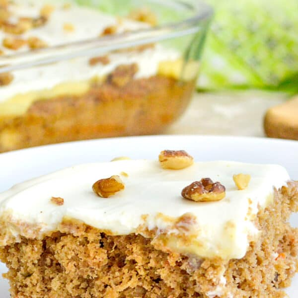 carrot poke cake recipe