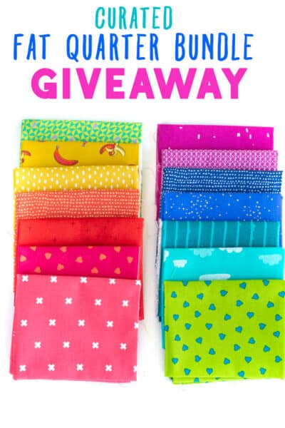 fat quarter bundle giveaway