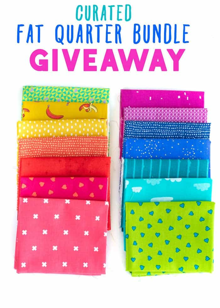 Fat Quarter Bundle Giveaway for National Quilting Month!