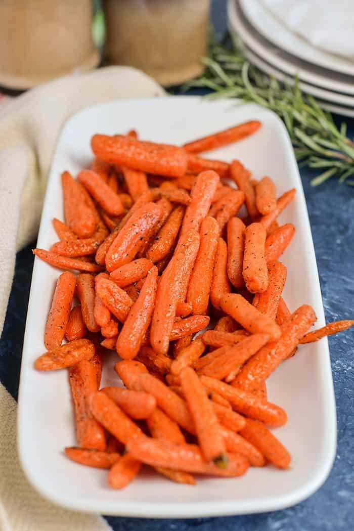 roasted carrots