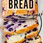 blueberry lemon bread recipe