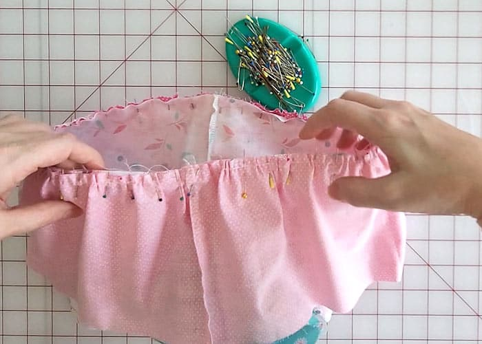 Tiered dress sewing instructions