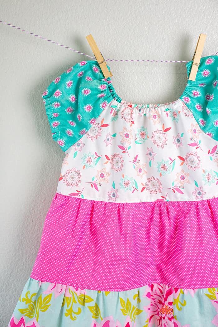 tiered dress pattern
