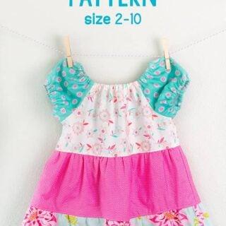 tiered peasant dress pattern