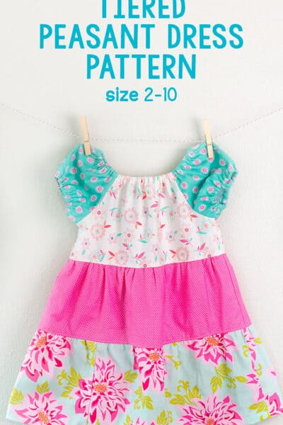 tiered peasant dress pattern