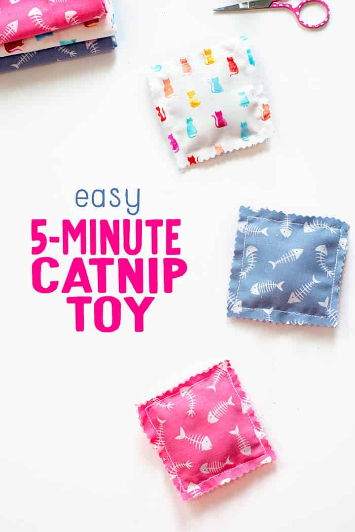 easy catnip toy tutorial