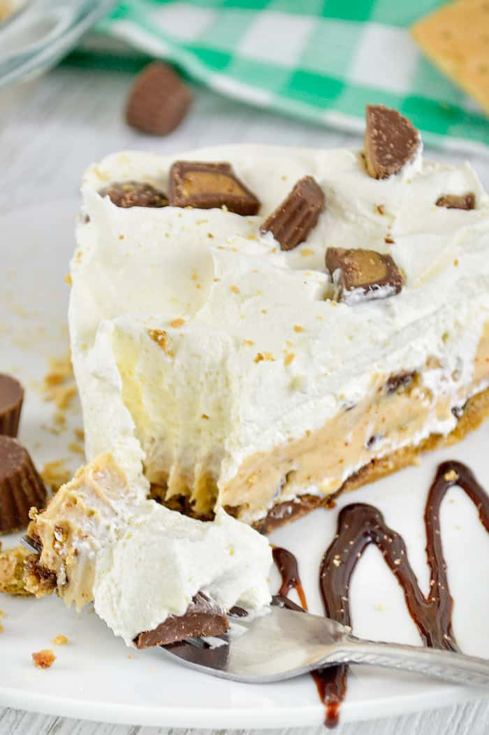 peanut butter pie with sweetened condensed milk