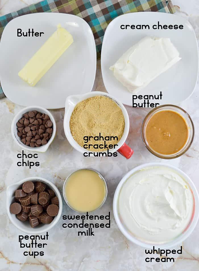 ingredients in peanut butter pie