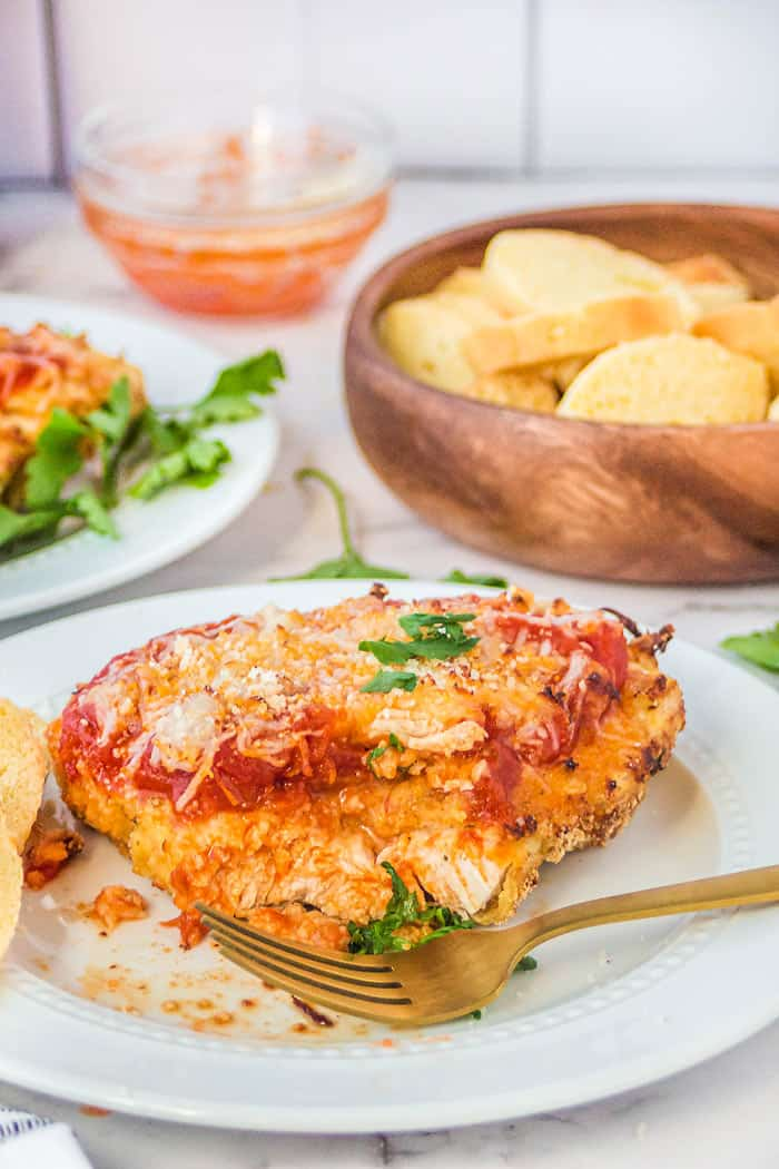 how to make chicken parmesan in the air fryer
