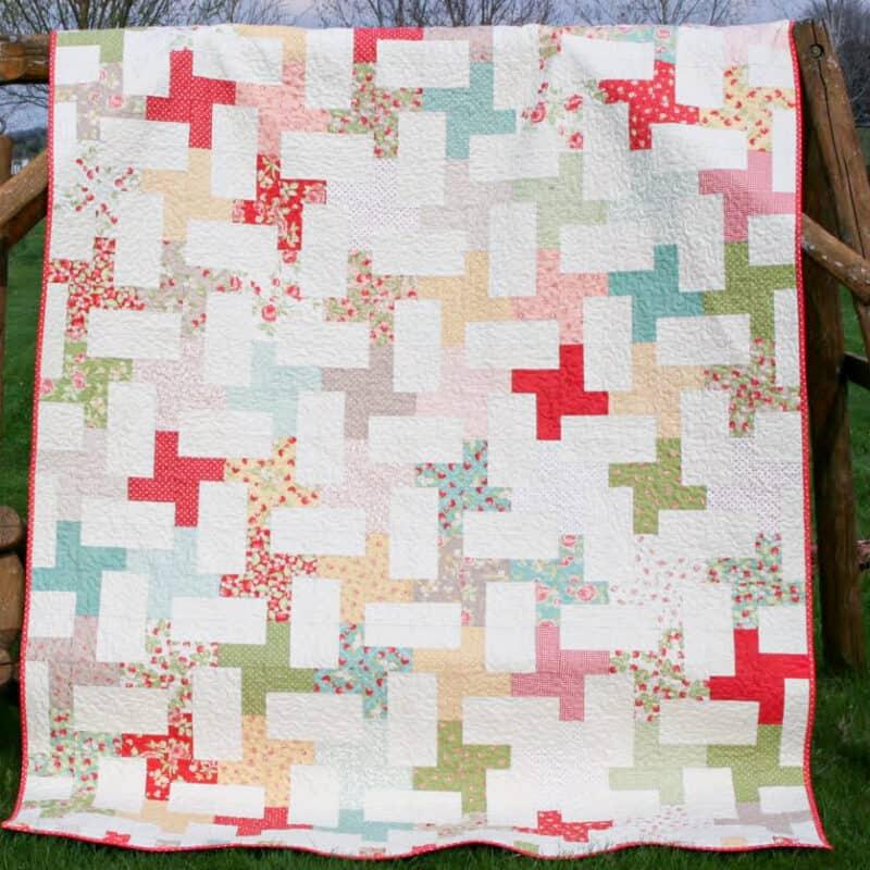 free cartwheel quilt pattern for beginners
