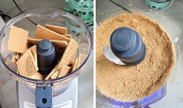 crush graham crackers