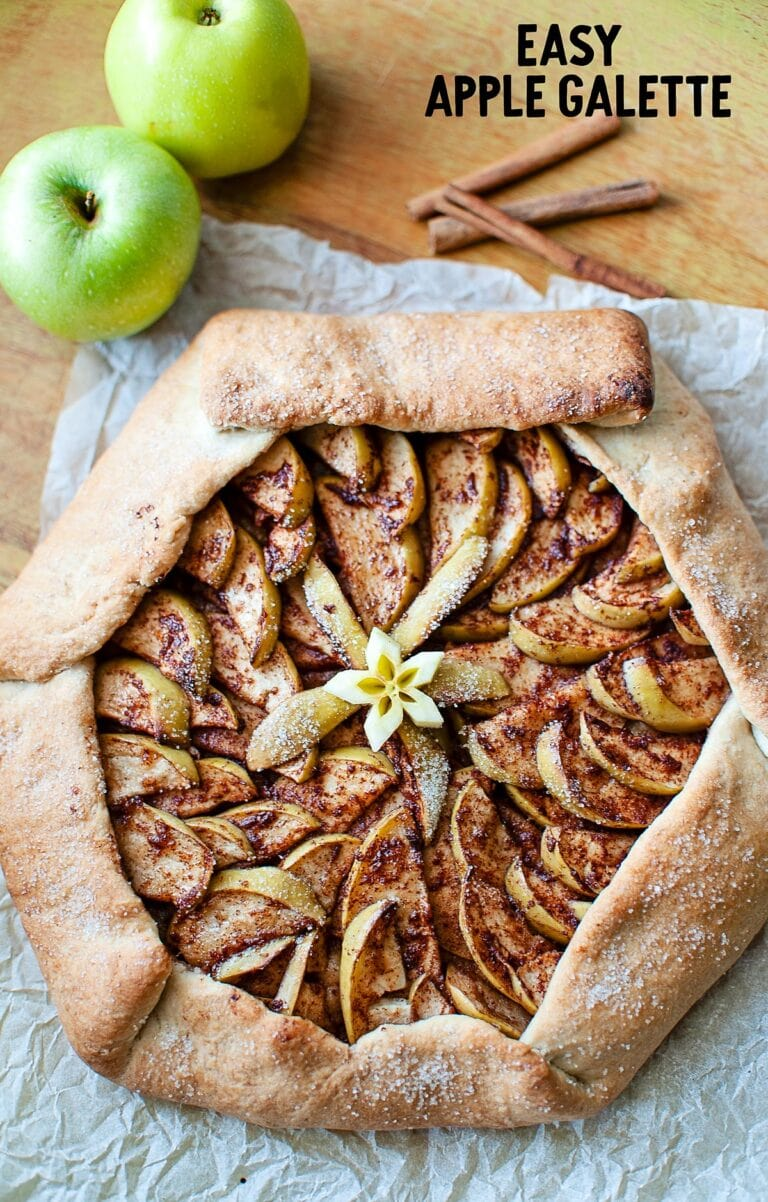 Deliciously Easy Apple Galette
