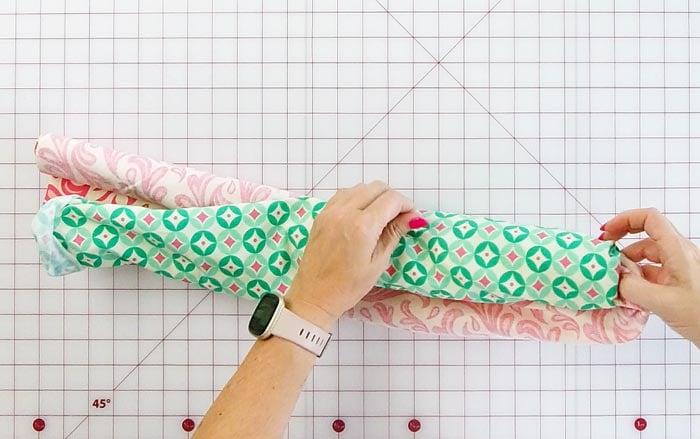 Sew A Pillowcase Burrito Style