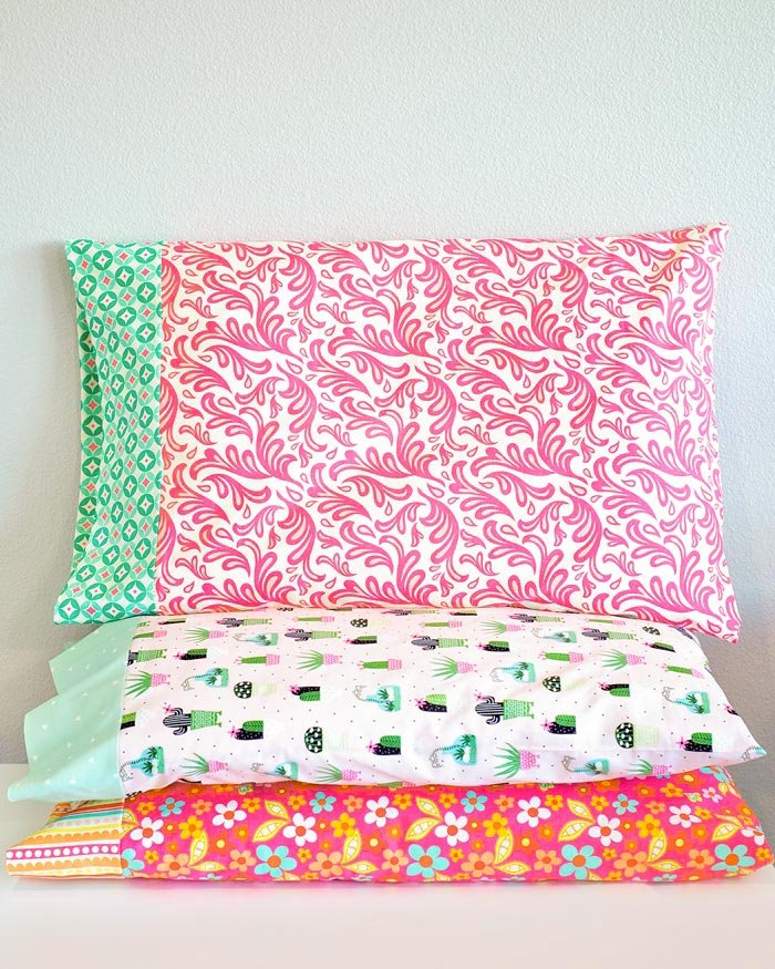 how to sew a standard pillowcase