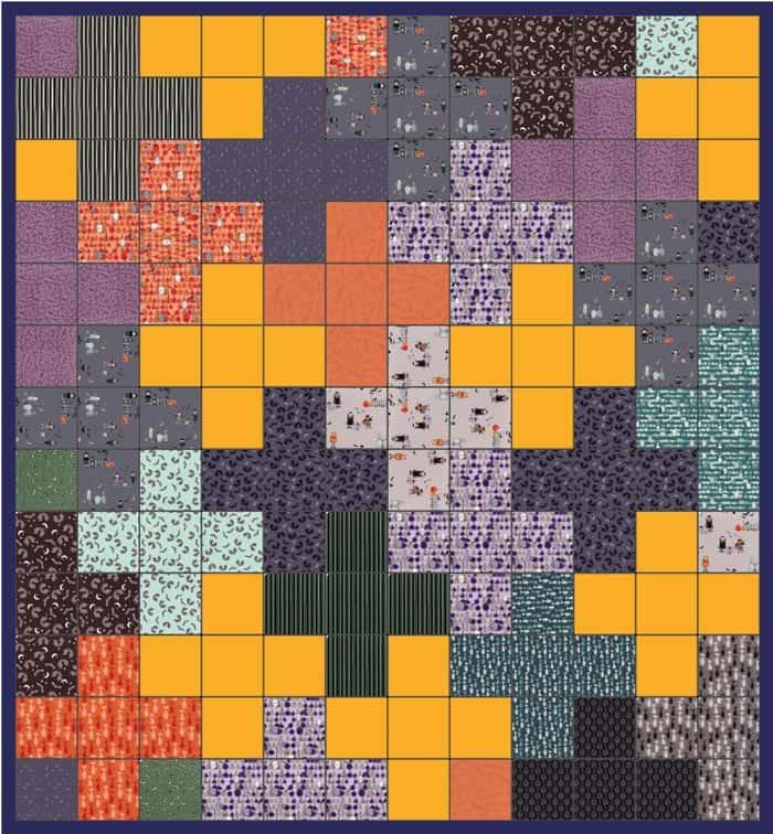 Plus quilt pattern