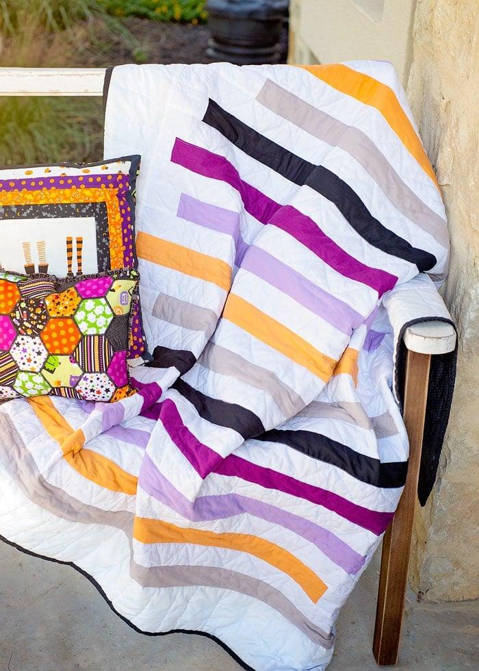 free strip quilt pattern